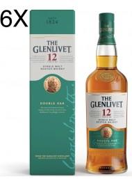 (6 BOTTIGLIE) The Glenlivet - Double Oak Single Malt Scotch Whisky - 12 anni - astucciato - 70cl