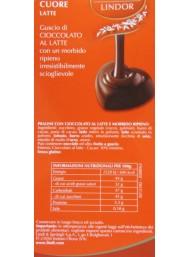 Lindt - Heart Metal Box Virgola - 110g