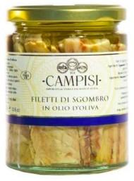 Campisi - Filetti di Sgombro in olio di Oliva - 340g
