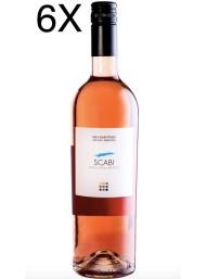 (3 BOTTLES) San Valentino - Scabi Rosato 2017 - Sangiovese Rosato Biologico - IGP - 75cl