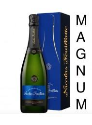 Nicolas Feuillatte - Brut Réserve - Champagne - 150cl - Magnum Gift box