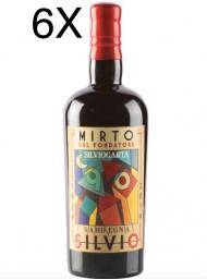 (3 BOTTLES) Silvio Carta - Mirto del Fondatore - 70cl