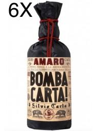 (3 BOTTLES) Silvio Carta - Amaro Bomba Carta! - 70cl