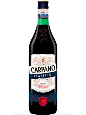 Carpano - Antica Formula - Vermouth Rosso - 100cl - 1 Litro