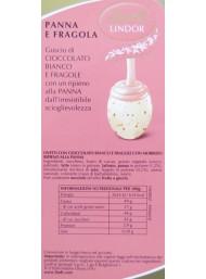 Lindor - Cream and Strawberry Eggs - 1000g