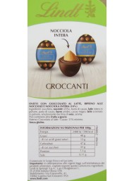 Lindt - Milk Chocolate - Whole Hazelnut - 1000g
