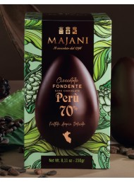 Majani - Dark Chocolate Egg - 70% Perù Cocoa - 230g
