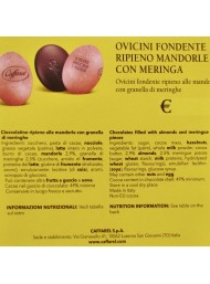 Caffarel - Dark Chocolate Eggs, Almond with Meringue - 100g