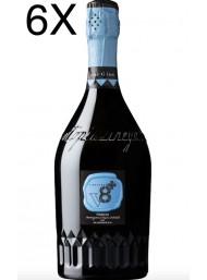 (3 BOTTLES) V8+ Vineyards - Sior Gino - Prosecco Dry Millesimato 2019 - DOC - 75cl