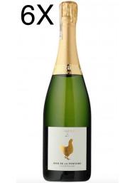 (3 BOTTLES) Jean de La Fontaine - L'Eloquente - Brut - Champagne - Gift Box - 75cl