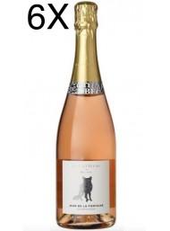 (3 BOTTLES) Jean de La Fontaine - La Flatteuse - Brut Rose' - Champagne - Gift Box - 75cl