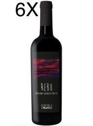 (3 BOTTIGLIE) I Muretti - Rebo 2018 - Rosso Rubicone IGP - 75cl