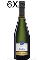(3 BOTTLES) Nicolas Feuillatte - Terroir Premier Cru - Champagne - 75cl