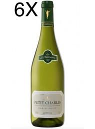 (3 BOTTLES) La Chablisienne - Petit Chablis 2020 - Pas si Petit - 75cl