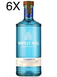 (3 BOTTIGLIE) Whitley Neill - Blackberry Gin - 70cl
