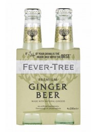 24 BOTTLES - Fever Tree - Ginger Beer - 20cl