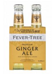 24 BOTTIGLIE - Fever Tree - Ginger Ale - 20cl