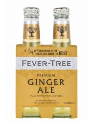24 BOTTLES - Fever Tree - Ginger Ale - 20cl