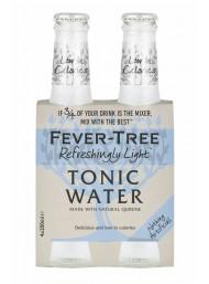 24 BOTTIGLIE - Fever Tree - Refreshingly Light - Naturally Light Tonic Water - Acqua Tonica - 20cl