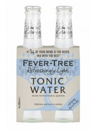 24 BOTTLES - Fever-Tree - Refreshingly Light - Naturally Light Tonic Water - 20cl