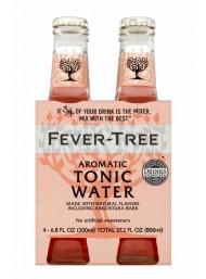 24 BOTTIGLIE - Fever Tree - Aromatic Tonic Water - Acqua Tonica - 20cl