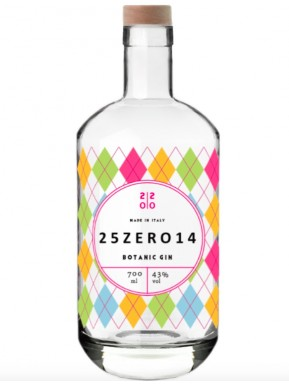25ZERO14 - Botanic Gin - 70cl