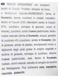 Flamigni - Dolce con Mandarini di Ciaculli - 350g