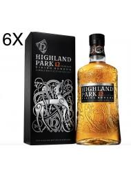 (3 BOTTIGLIE) Highland Park - 12 Anni - Viking Honour - Single Malt Scotch Whisky - 70cl