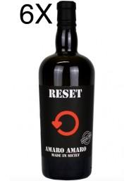(3 BOTTIGLIE) Reset - Amaro Amaro - Made in Sicily - 70cl