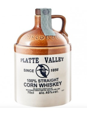 McCormick Distilling - Platte Valley Whiskey - 100% Straight Corn Whisky - 70cl