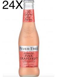 Fever Tree - Pink Grapefruit - Acqua Tonica - NEW - BLISTER 4 X 20cl