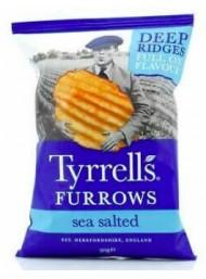 "Tyrrells - Patatine ""Rustiche"" Furrows Sea Salted - 150g"