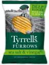 "Tyrrells - Chips ""Rustiche"" Furrows Sea Salted & Vinegar - 150g"