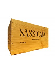 Wood Box Sassicaia (2018)