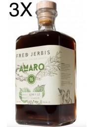 (3 BOTTIGLIE) Fred Jerbis - Amaro 16 - 70cl