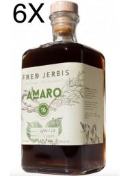 (6 BOTTLES) Fred Jerbis - Amaro 16 - 70cl