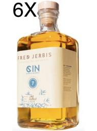 (3 BOTTLES) Fred Jerbis - Gin 7 - Acacia Single Barrel - 70cl