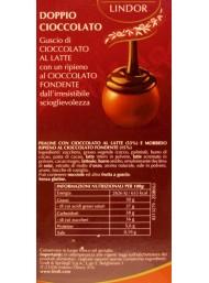 Lindt - Lindor - Doppio Cioccolato - 100g - NEW