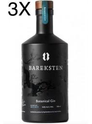 (3 BOTTLES) Bareksten - Botanical Gin - 70cl