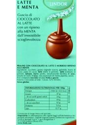 Lindt - Lindor - Latte e menta