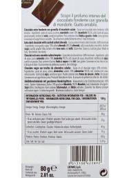 Caffarel - Dark Chocolate and Almonds - 80g