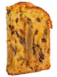 Scarpato - Panettone filled with eggnog cream - 1000g