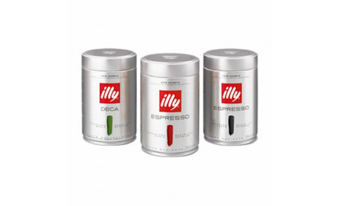 """COFFEE """"ILLY"""" COFFEE BEANS AND GROUND"""